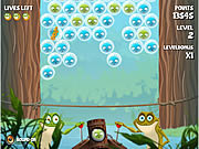 Bubble Frog game