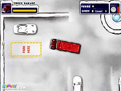 Xmas Truck Parking game