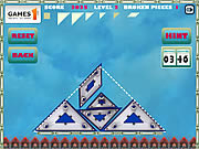 Gravity Tangram game