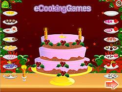 New Year 2011 Cake Decoration game