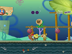 Sponge Bob and Patrick:Dirty Bubble Busters game