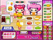 Cute Burger game