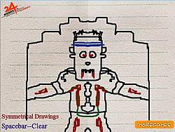 Symmetrical Drawings game