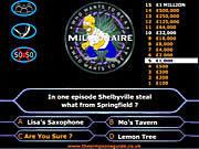 Jogar jogo grátis Simpson's Millionaire