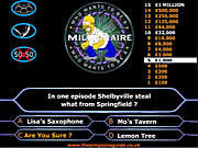 Simpson's Millionaire game