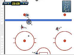 Super Ice Hockey game