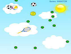 Ball Rain game