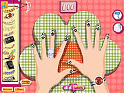 Nail Salon Fun game