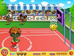 Basketball Shotball game