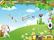 Play Little angel archery contest Game