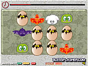 Play Egg matching pair panic Game