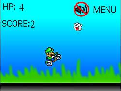 Mario Motorbike game