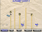 Alphabet Shoot 2 game