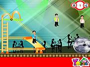 Celebrity Oscar Jump game