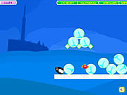 Penguins Fun Fall game