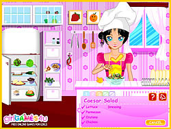 Cook Salad Recipes game