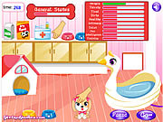 Play Cute puppy daycare Game