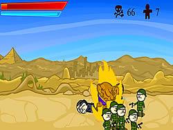 Flaming Camel game