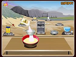 Pan Di Spagna Cake  game