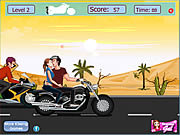 juego Risky Motorcycle Kissing