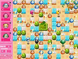 Cute Bomberman game