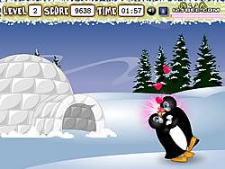 Penguin Kissing game