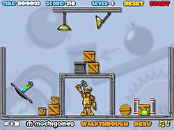 Crash The Robot game