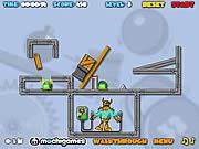 Play Crash the robot Game