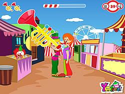Clown Kiss game