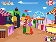 Clown Kiss game