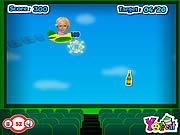 Paris Hilton Fly game