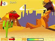 Wile E. Rocket Ride game