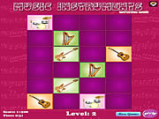 Play Music intruments matching game Game