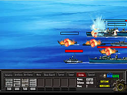 Battle Gear Missile Attack game