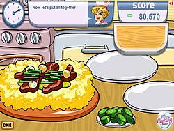 Lisa's Spicy Mongolian Beef game
