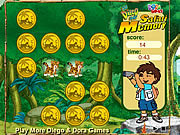 Go Diego Go! Safari Memory game