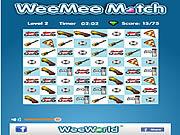 WeeMee Match game