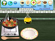 Play Saras cooking class swedish meatballs Game