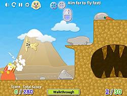 Rabbit Launcher game