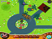 Play Zombie kids - easter day Game