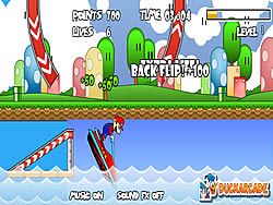 Mario Jet Ski game