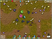 Play War in my garden Game