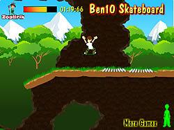 Ben 10 Skateboard game