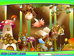 Magic Forest Decoration game