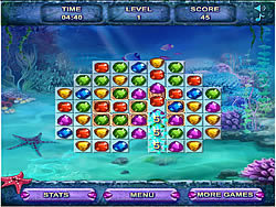 Sea Treasure Match game