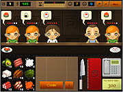 Play Sushi bar Game