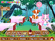 Play Cure my baby animals Game