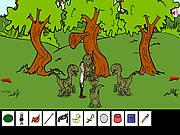 Obama Jurassic Park game