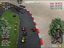 Red Kart Racer game