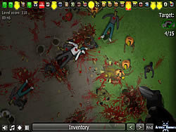 Insectonator Zombie Mode game